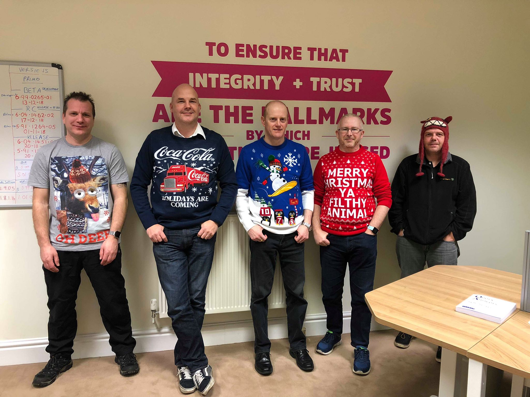 Development Christmas Jumper