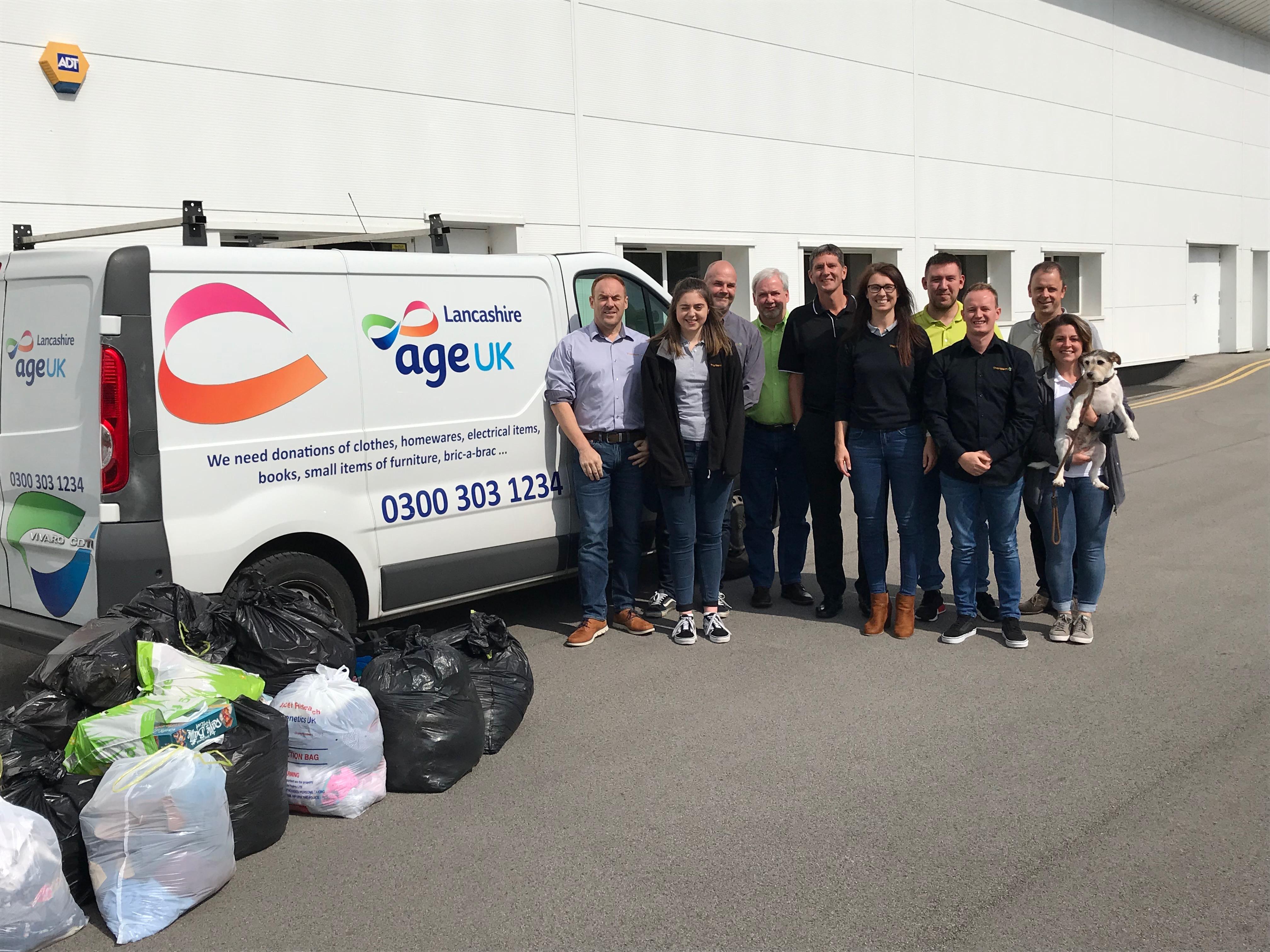 Tharstern Age UK Donations
