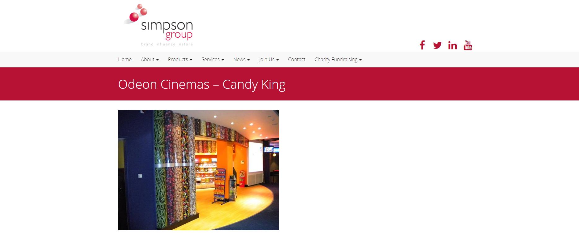Simpson group - cinema - print