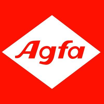 Agfa square red logo
