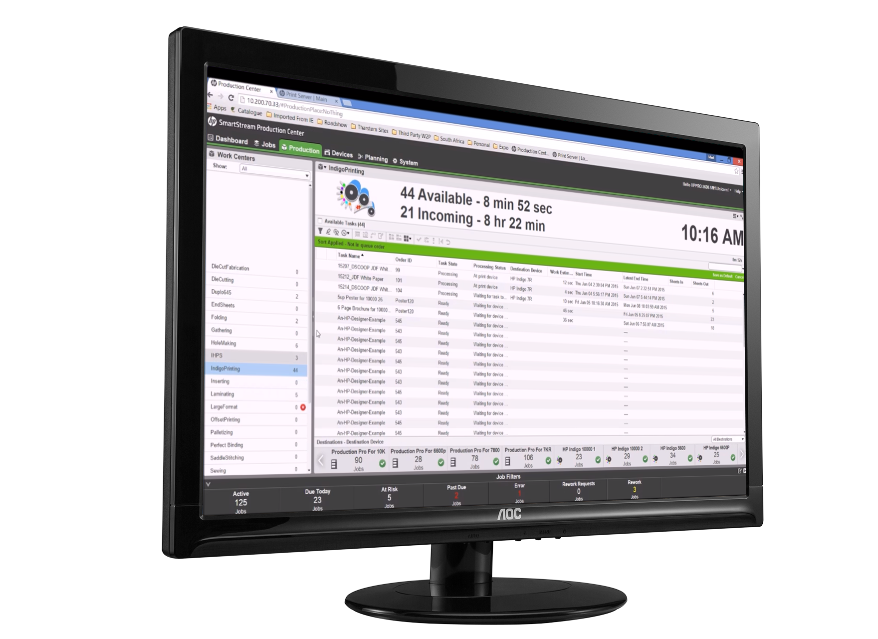 Tharstern HP Smartstream Integration