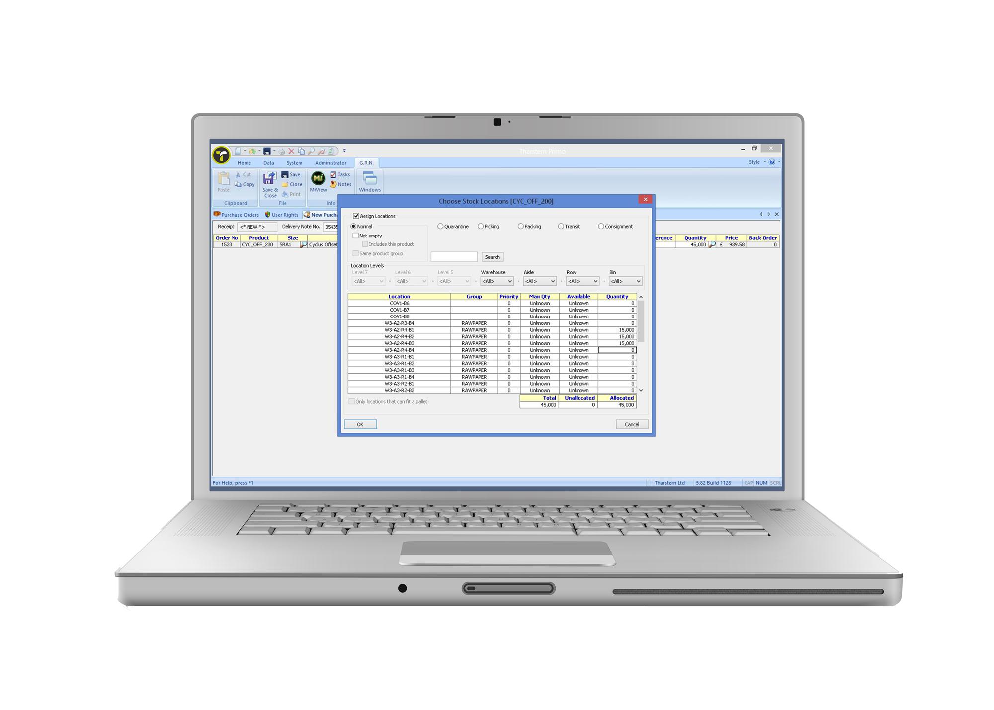 Tharstern Inventory Module