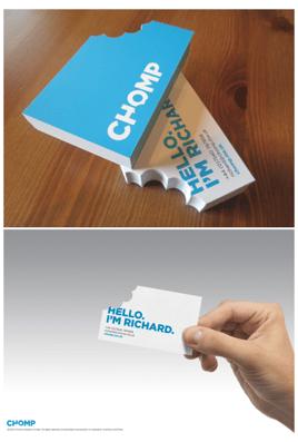 business card-chomp-print