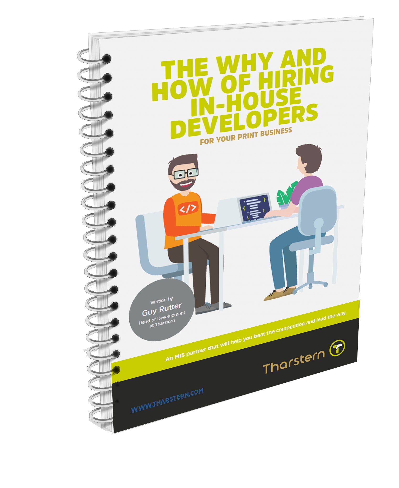 Hiring In-House Developers 3D Cover