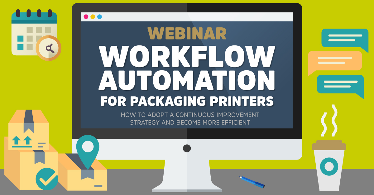 Workflow Automation for Packaging Printers